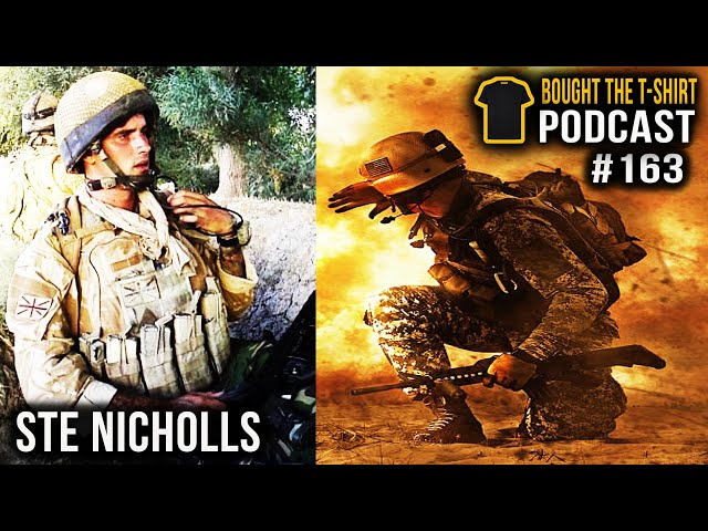 The Untold HORROR Of War | Ste Nicholls | Lads Bible Young Soldier | Bought The T-Shirt Podcast #163