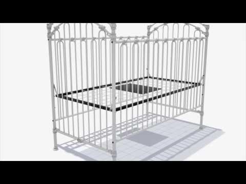 Bratt Decor39s Venetian Ii Crib Assembly Youtube