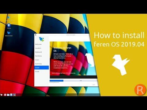 How to install feren OS 2019.04 thumbnail