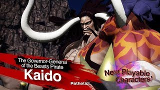 One Piece Pirate Warriors 4 - Kaido and Big Mom Gameplay Trailer  (HD)