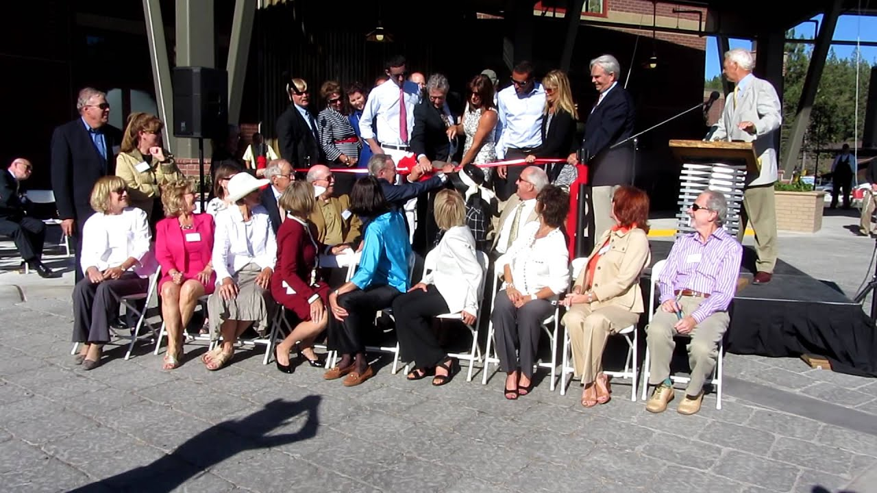 Gene Upshaw Memorial Tahoe Forest Cancer Center Ribbon Cutting