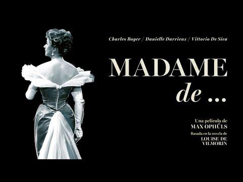 Madame de... - Tráiler