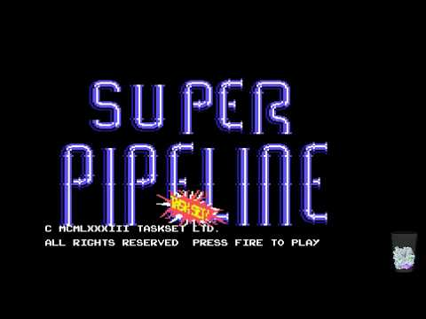 Commodore 64 Crypt - Super Pipeline 1 & 2