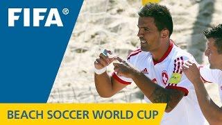 Beach Soccer World Cup BEST GOALS: Dejan STANKOVIC (Switzerland v. Costa Rica)