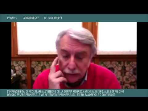 Adozioni gay - dr. Paolo Crepet - Pro\Versi