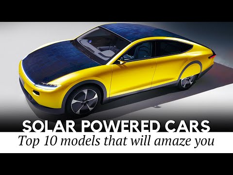Top 10 Electric Cars Using Solar Panels to Keep the Batteries Charged
