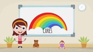 Vídeo para bebés e crianças - aprender as cores - Português PT