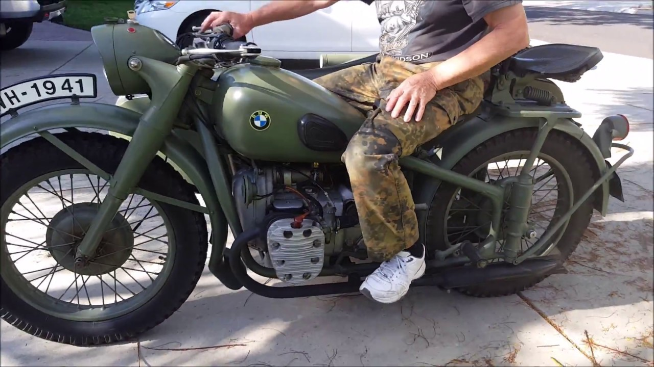 Sold 1938 Bmw R71 Replica With A Sidecar Family Fun Kids Pets