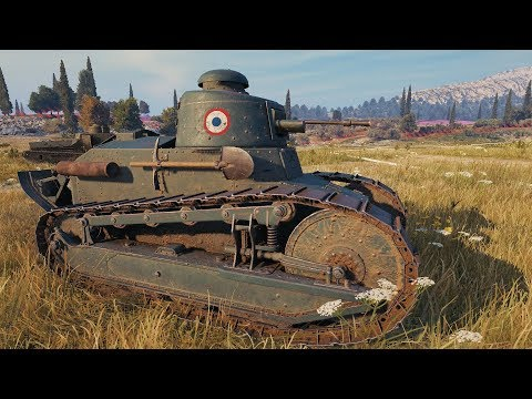 World of Tanks Renault FT