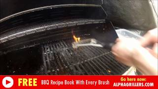 Grill Brush Instructions: How To Clean A BBQ