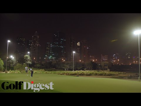 Golf All Night in the Heart of Dubai at Emirates Golf Club | Eat. Stay. Love. | Golf Digest