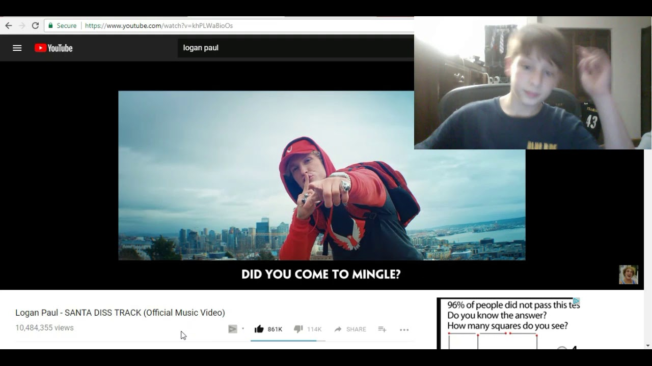 Download santa disstrack I react Its so AWESOME!#christmas diss!