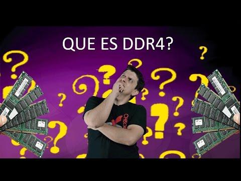Que es DDR4?