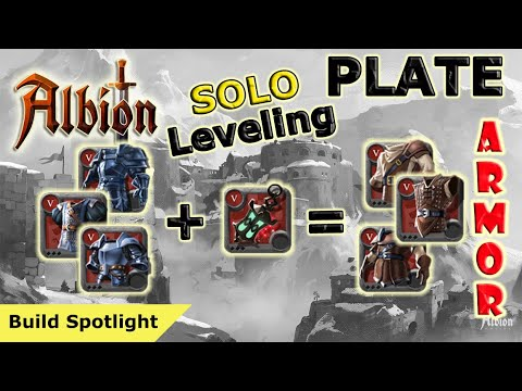 Speed Leveling Plate Armor - Solo | Albion Online