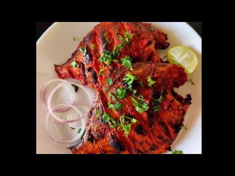 Grilled Fish In Microwave Pomfret