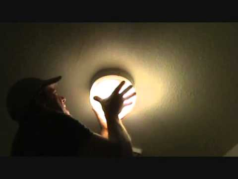 How to install a light fixture globe cover