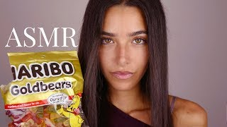 ASMR Eating Candy (Intense Mouth Sounds, Crackling sounds, Scratching sounds, Plastic sounds...)