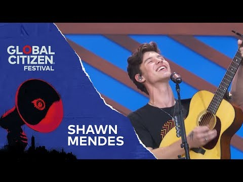 Shawn Mendes Performs Lost In Japan | Global Citizen Festival NYC 2018