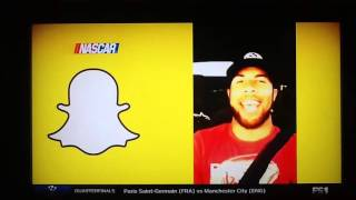 nascar drivers darrell wallace jr ryan blaney snapchat road trip