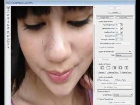 Como adelgazar la nariz en photoshop