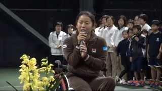 女子決勝は、上地結衣選手と堂森佳南子選手の対戦。予選と準決勝の4試...