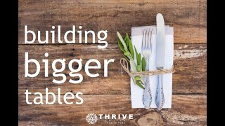 Thrive Church, Building Bigger Tables 9.13.20