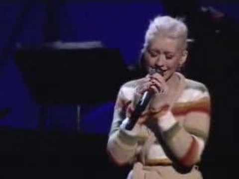 Christina Aguilera A Song for You Grammy Rehearsal
