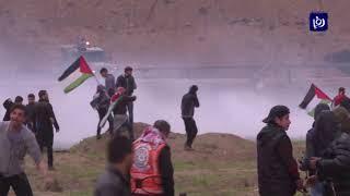 شهيدة وعشرات الاصابات بقمع الاحتلال لمسيرات العودة - (11-1-2019)