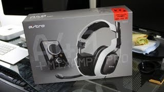 ASTRO Gaming A40 Headset Unboxing (PS3, Xbox 360, PC Gaming Headset)