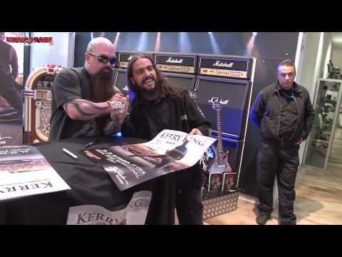 KERRY KING Signing Session @ MUSIC STORE