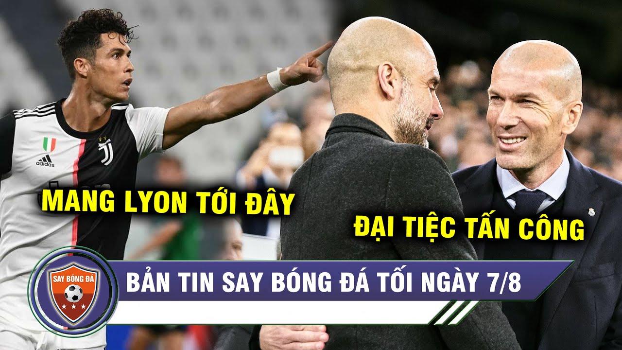 TIN TỐI 7/8 | Ronaldo tỏa sáng Juve NGƯỢC DÒNG trước Lyon? - Real tạo nên chuyện cổ tích với ManCity