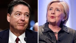 Why did Comey soften the language in the Clinton probe memo?