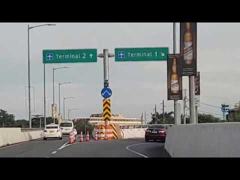 Skyway to NAIA Terminal 1 via NAIA Expressway