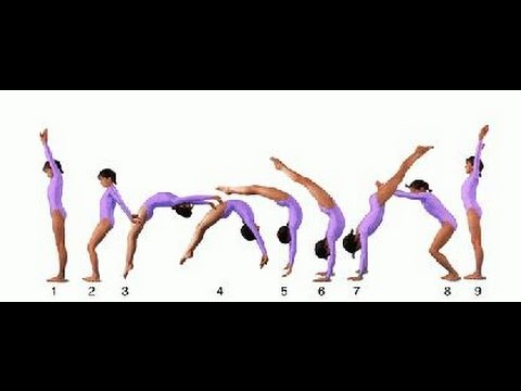 How To Spot A Standing Backhandspring Youtube