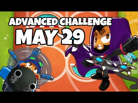 BTD6 Advanced Challenge - Role Reversal And Vines - May 29 2019