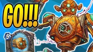 Assembling VOLTRON! | V-07-TR-0N Mage | The Boomsday Project | Wild  | Hearthstone