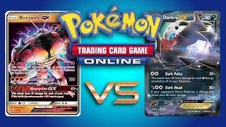 Buzzwole GX / Garbodor vs Turbo Darkrai EX - Expanded Pokemon TCG Online Game Play