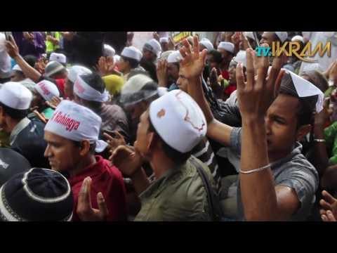 Demo bantah kekejaman terhadap Rohingya
