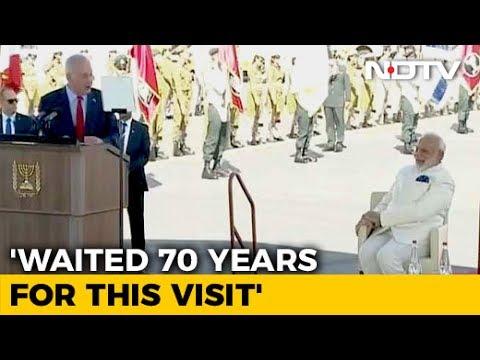 Welcome, My Friend, We Love India, Says Netanyahu To PM Modi