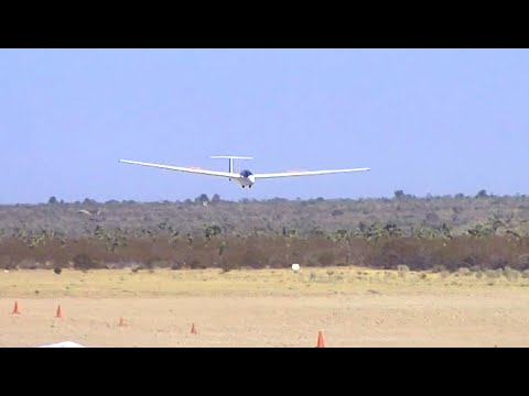 SOARING / GLIDER FLYING AT SOUTHERN CALIFORNIA SOARING ACADEMY - 9/5/2016