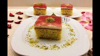 Sütlü Revani Tatlısı - Muhallebili ve Şerbetli Kolay Bayram Tatlısı - Ev Lezzetleri