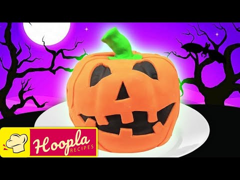 Pumpkin Cake Recipe | Trick or Treat | Happy Halloween from Hoopla Recipes