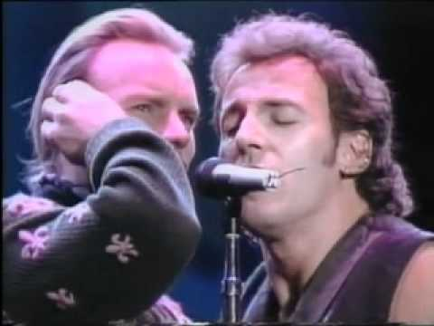 The river - bruce springsteen & sting