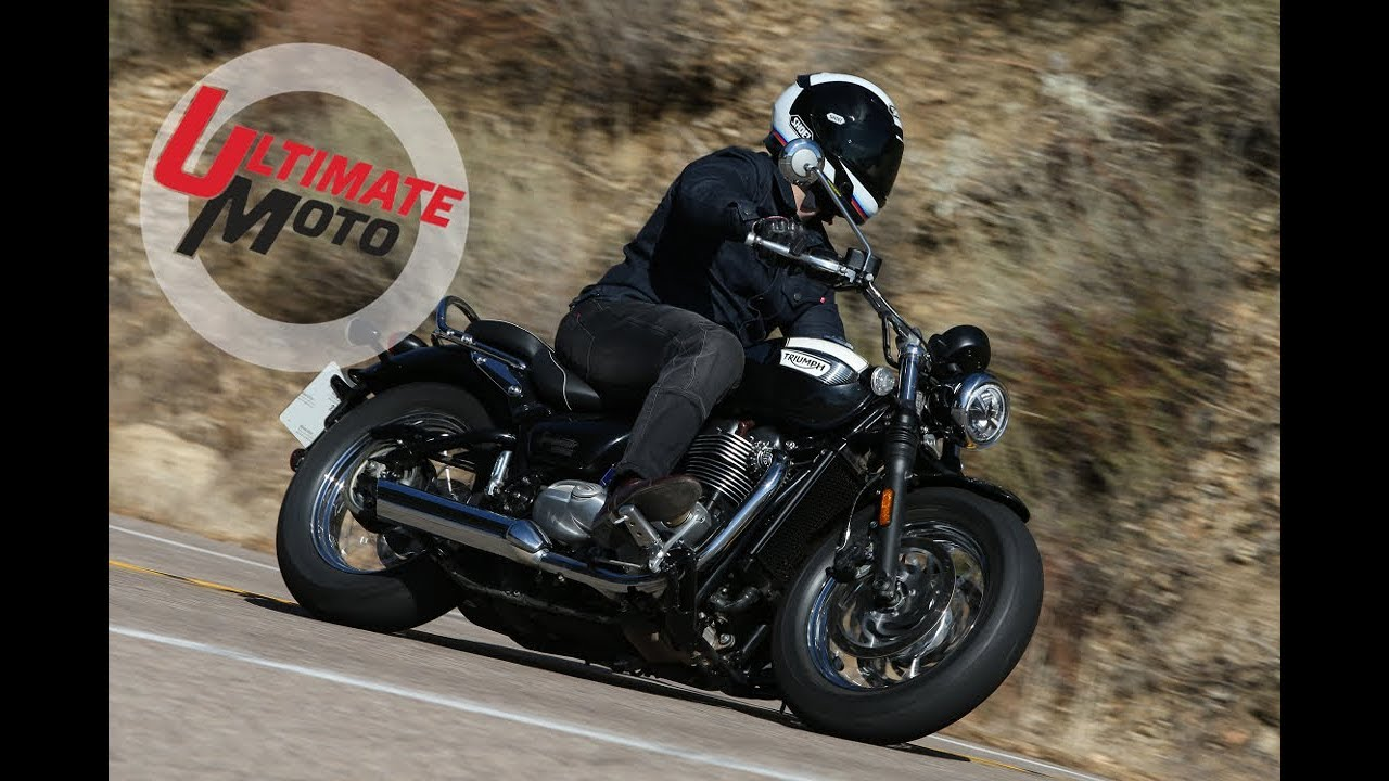 2018 Triumph Bonneville Speedmaster First Ride Review Ultimate