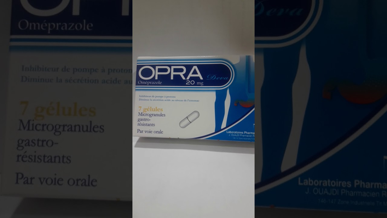 Download أرخص دواء للمعدة opra 20mg ب 20   درهم