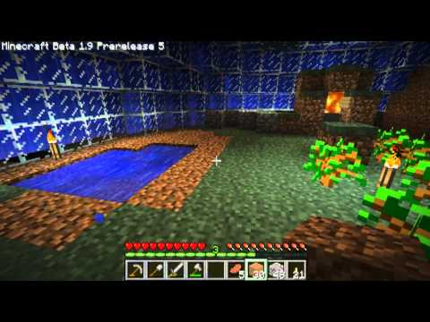 Minecraft - Underwater Dome Ep. 02 - Cleaning up and digging out rooms.