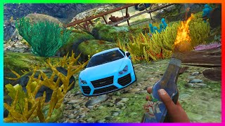 GTA 5 LOS SANTOS TSUNAMI ATLANTIS + ALL UNDERWATER TREASURE, SECRETS & MYSTERIES DISCOVERED! (GTA V)