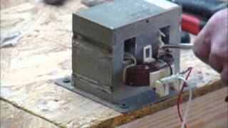 Repeat youtube video DIY homemade High Current battery tab series spot welder (400 Ampere)