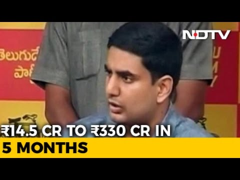 I Can Explain, Says Chief Minister Naidu's Son About Very Good Fortune