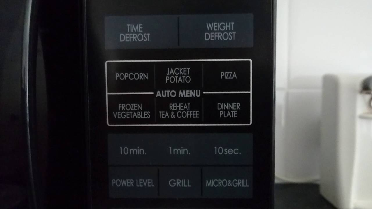 sharp microwave oven with grill review